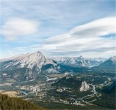 Town of Banff from Sulphur