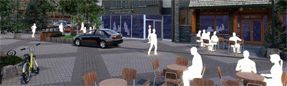 rendering - pavement pattern