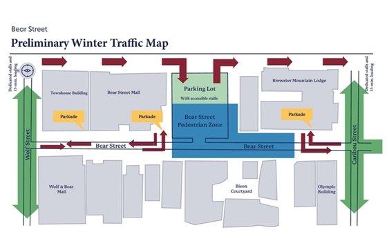 Preliminary winter road design