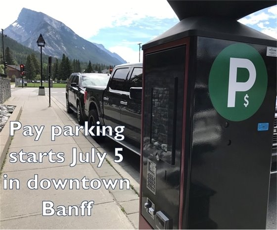Pay parking photo