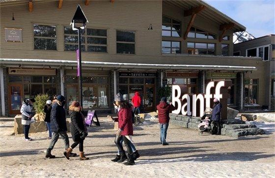 banff letters sign Jan 24