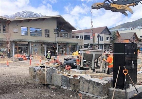 Photo - concrete pouring