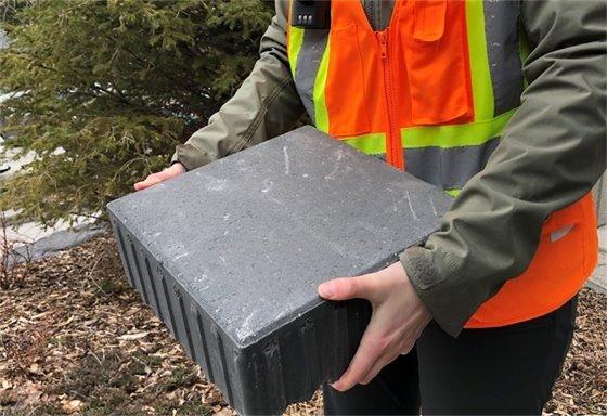 photo - big block paver
