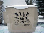 Food waste collectors