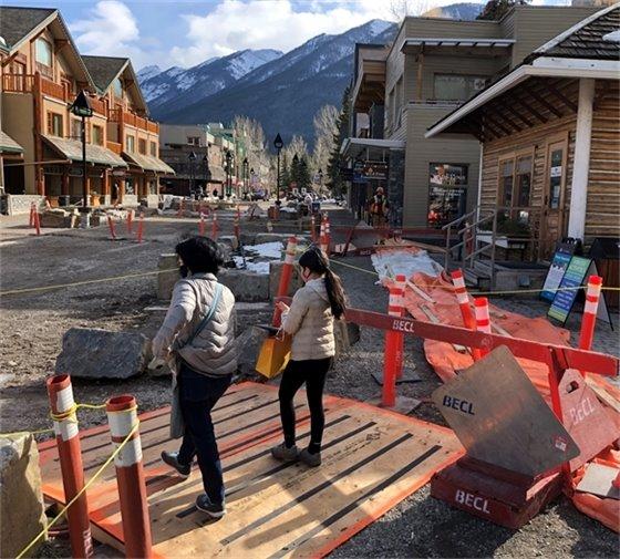 Photo - Bison Courtyard ramp