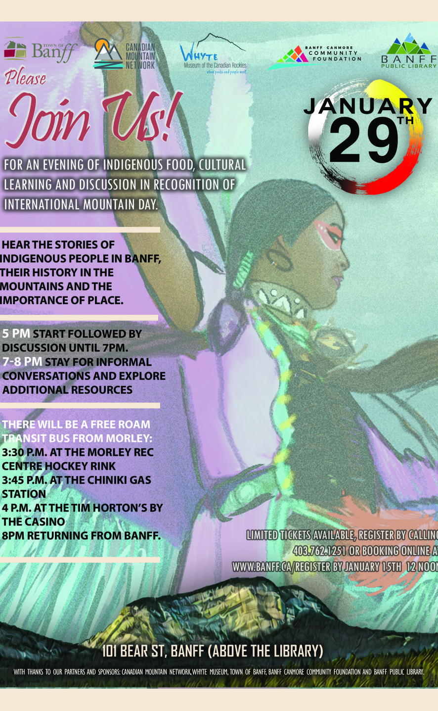 Evening of Indigenous Stories Poster