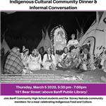Indigenous Cultural Community Dinner