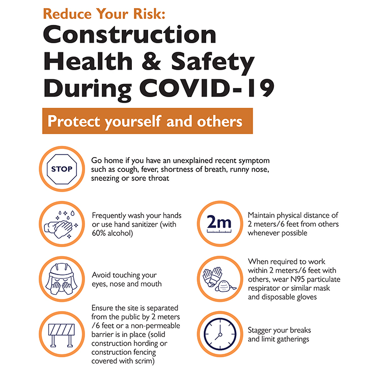 Covid - 19 Construction Poster Small Image