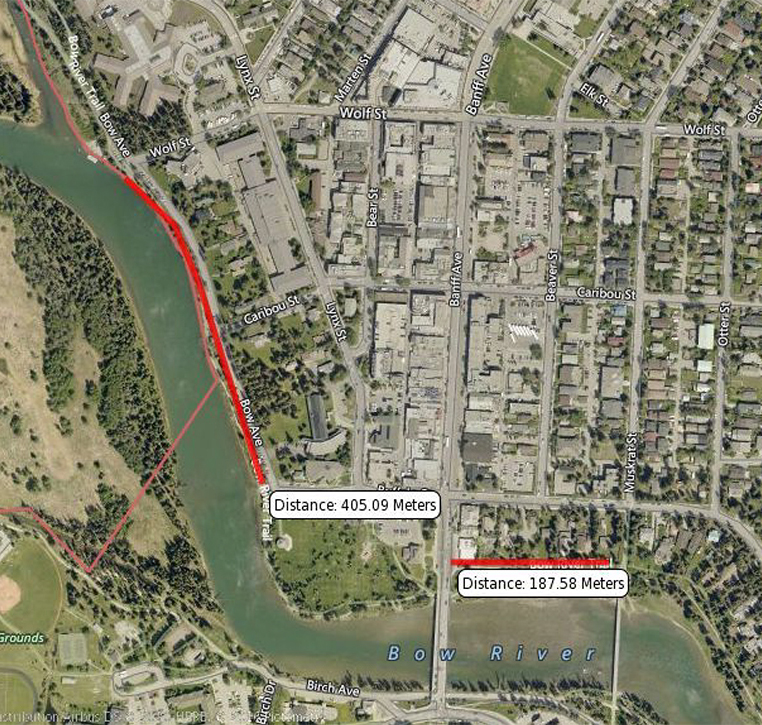 Bow River Trail Paving news