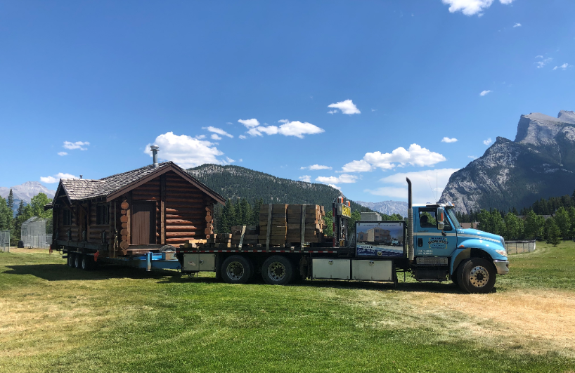 Cabin moving