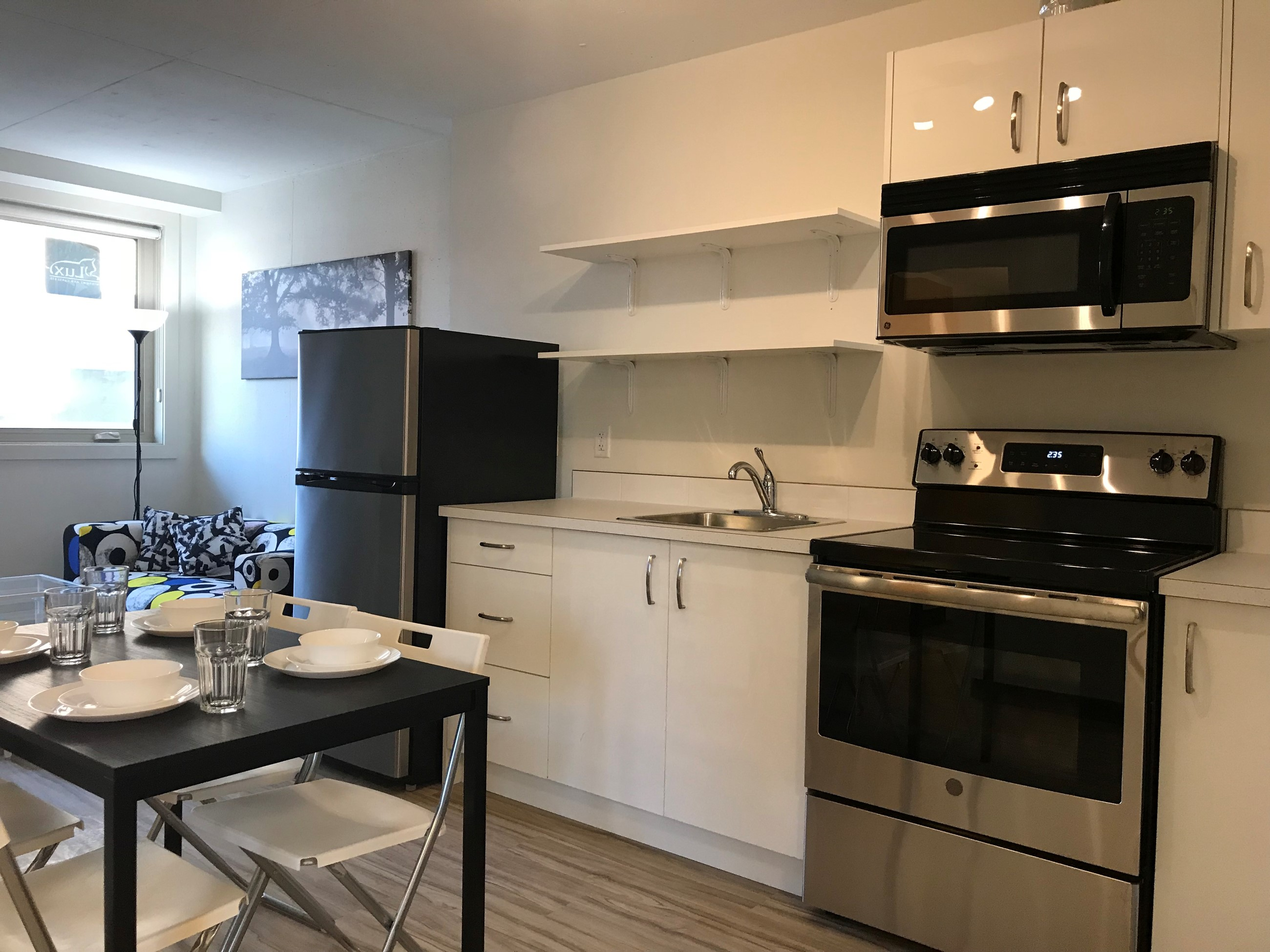 Two Bedroom Unit Kitchen