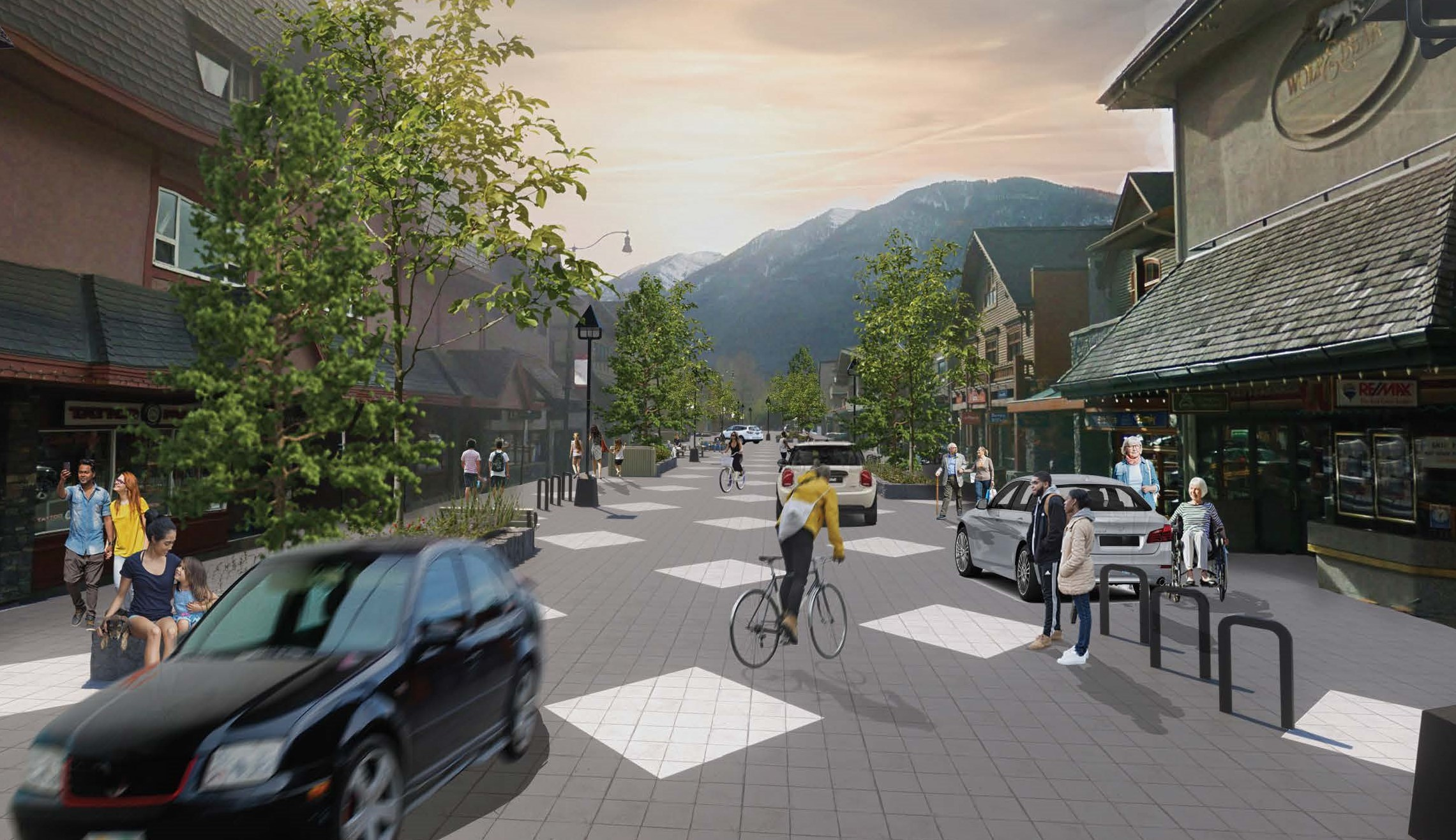 Shared Street Concept Opens in new window