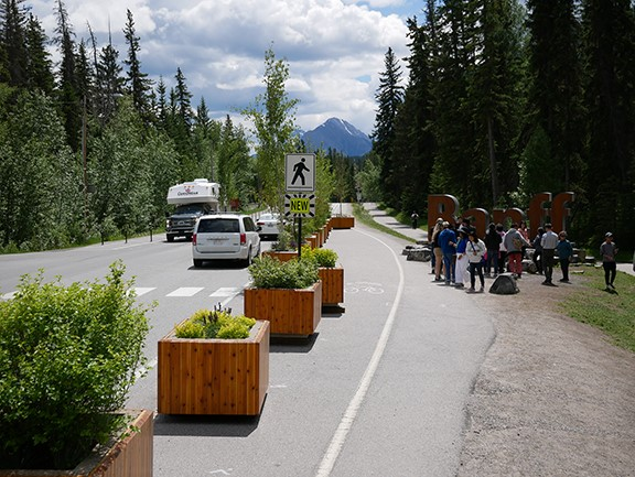 West Entrance to Banff
