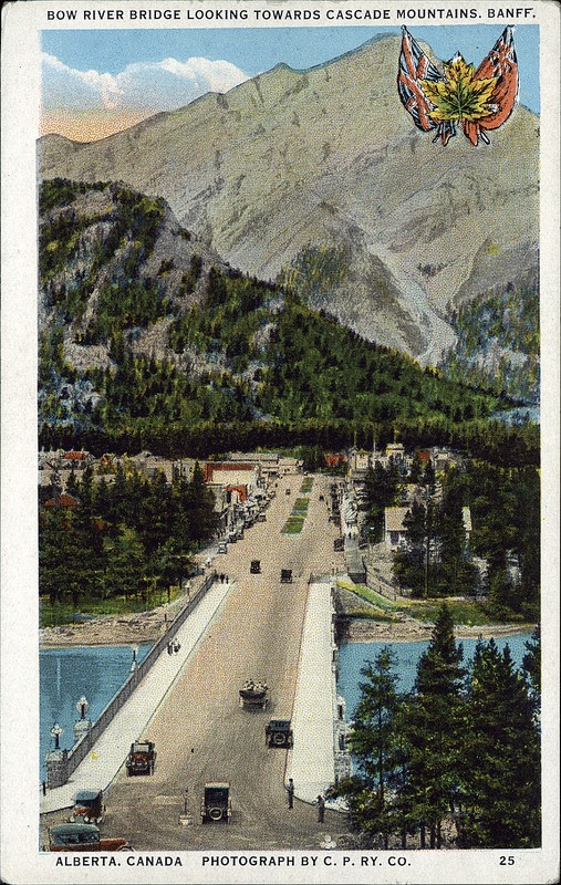 Postcard of Bow River Bridge