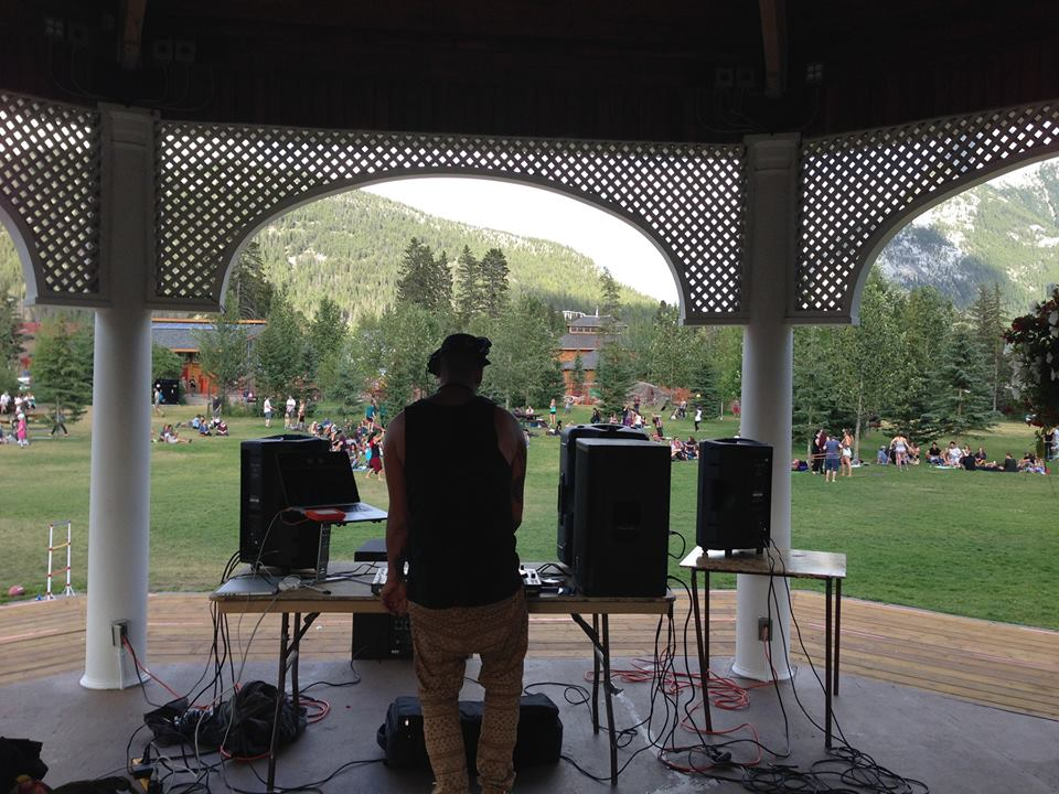 DJ and Play in the Park
