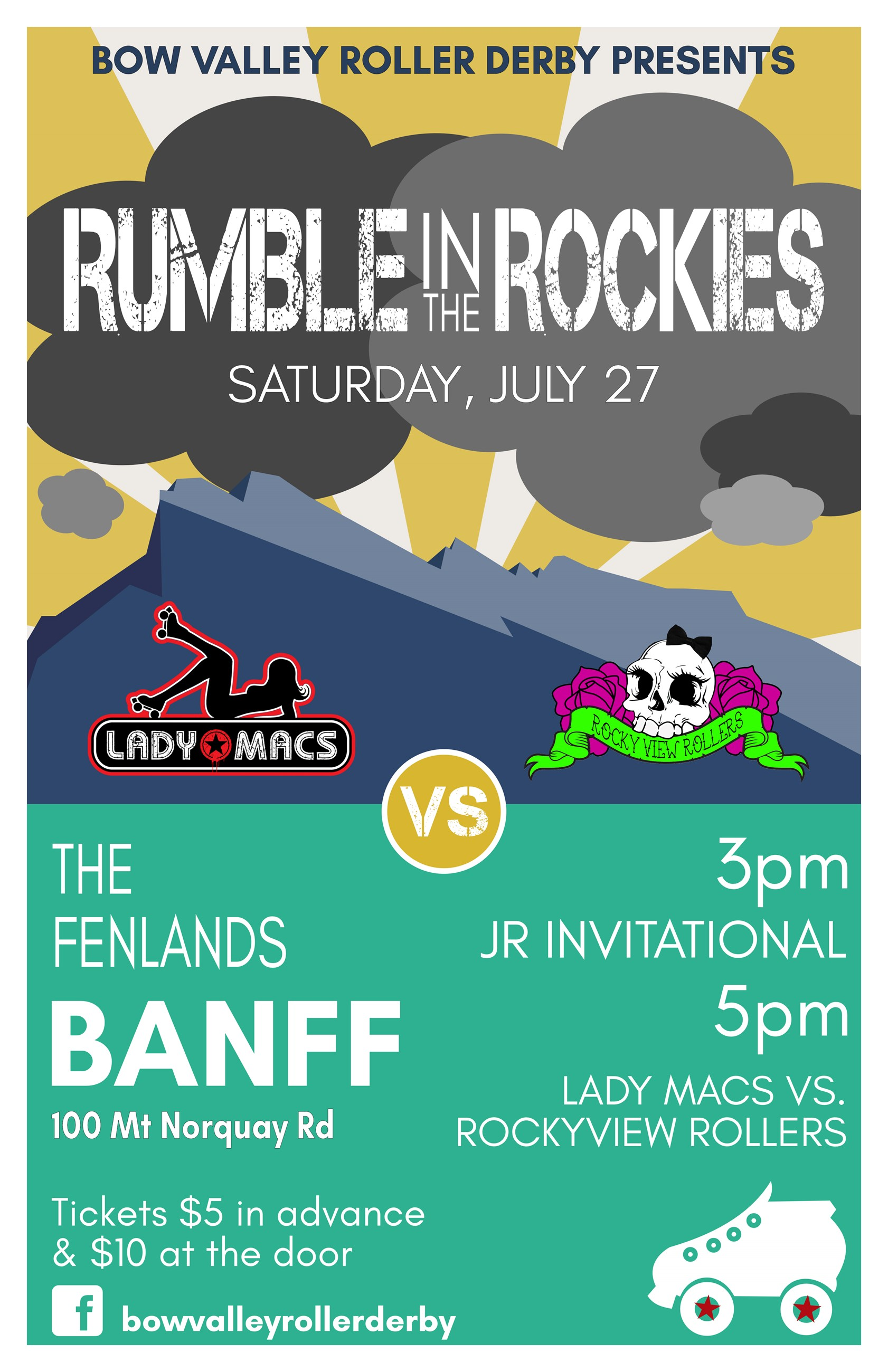 Rumble in the Rockies Poster