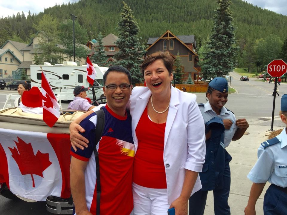 Canada Day with the Mayor