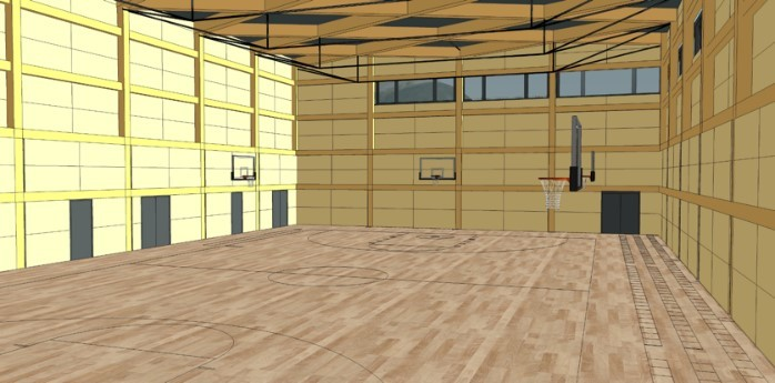 Elementary School Gym Concept Image