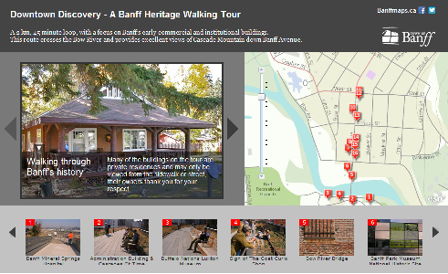 Interactive Heritage Map