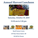 Harvest Luncheon Poster 2019