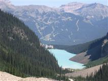 Lake Louise from Six Glaciers