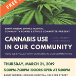 Cannabis Use in Our Community