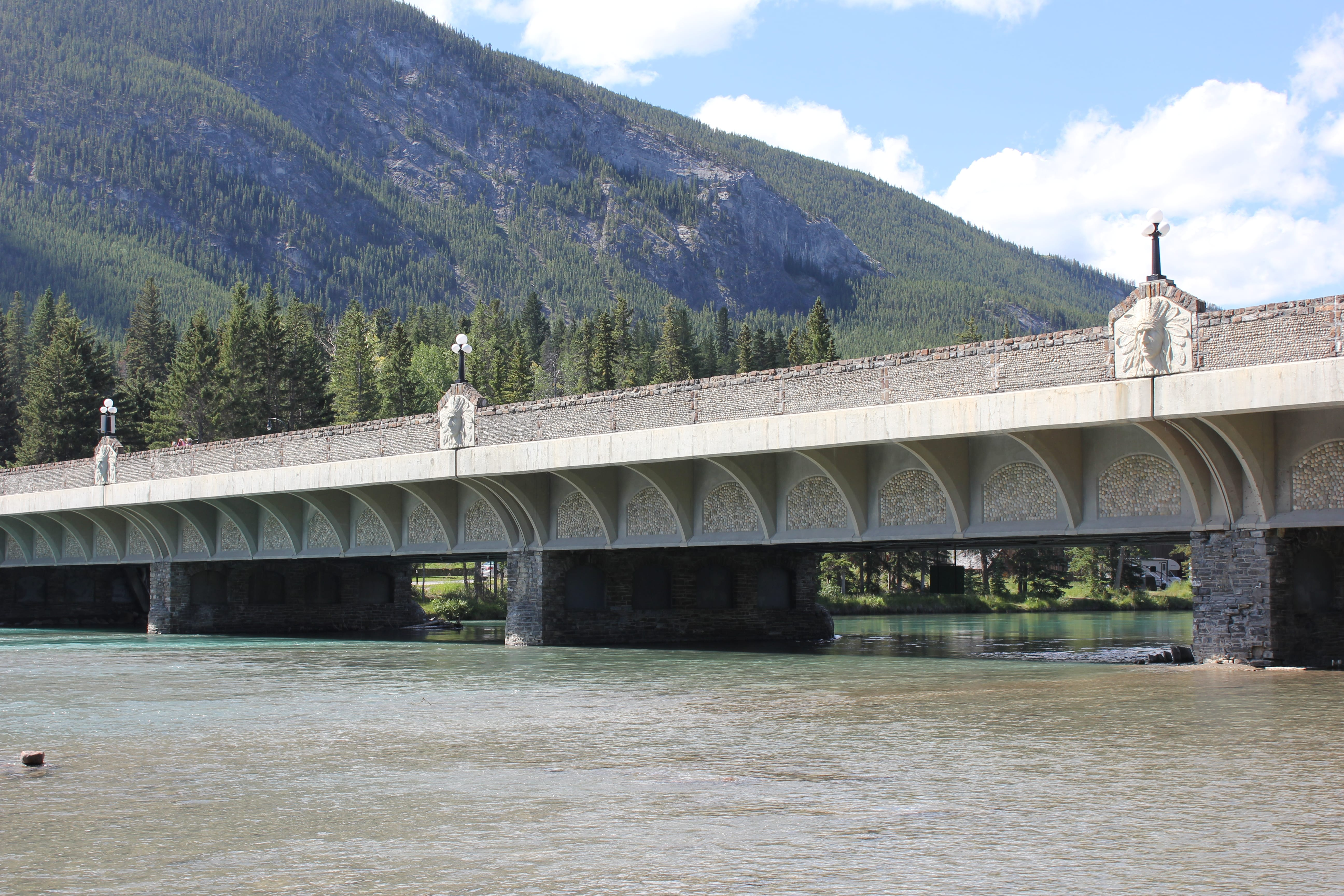 Bow River Bridge now