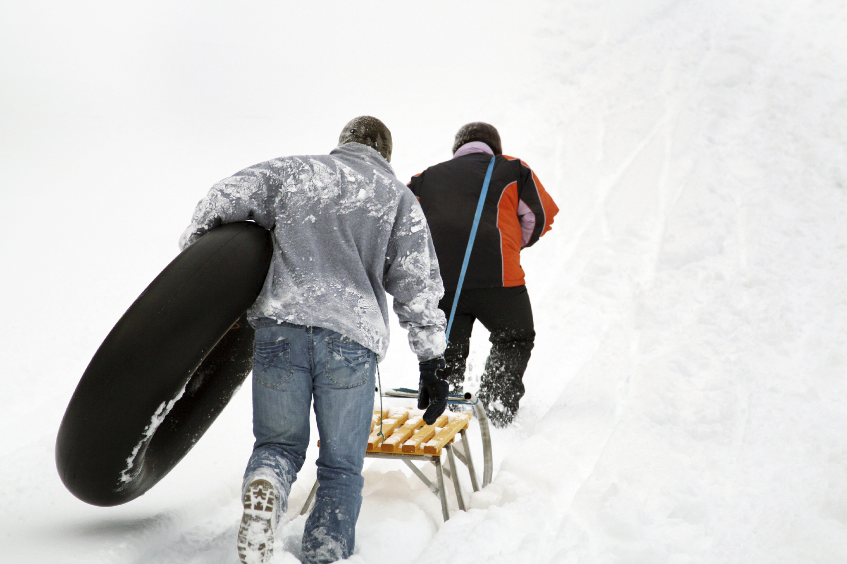 Sledding and Tobogganing