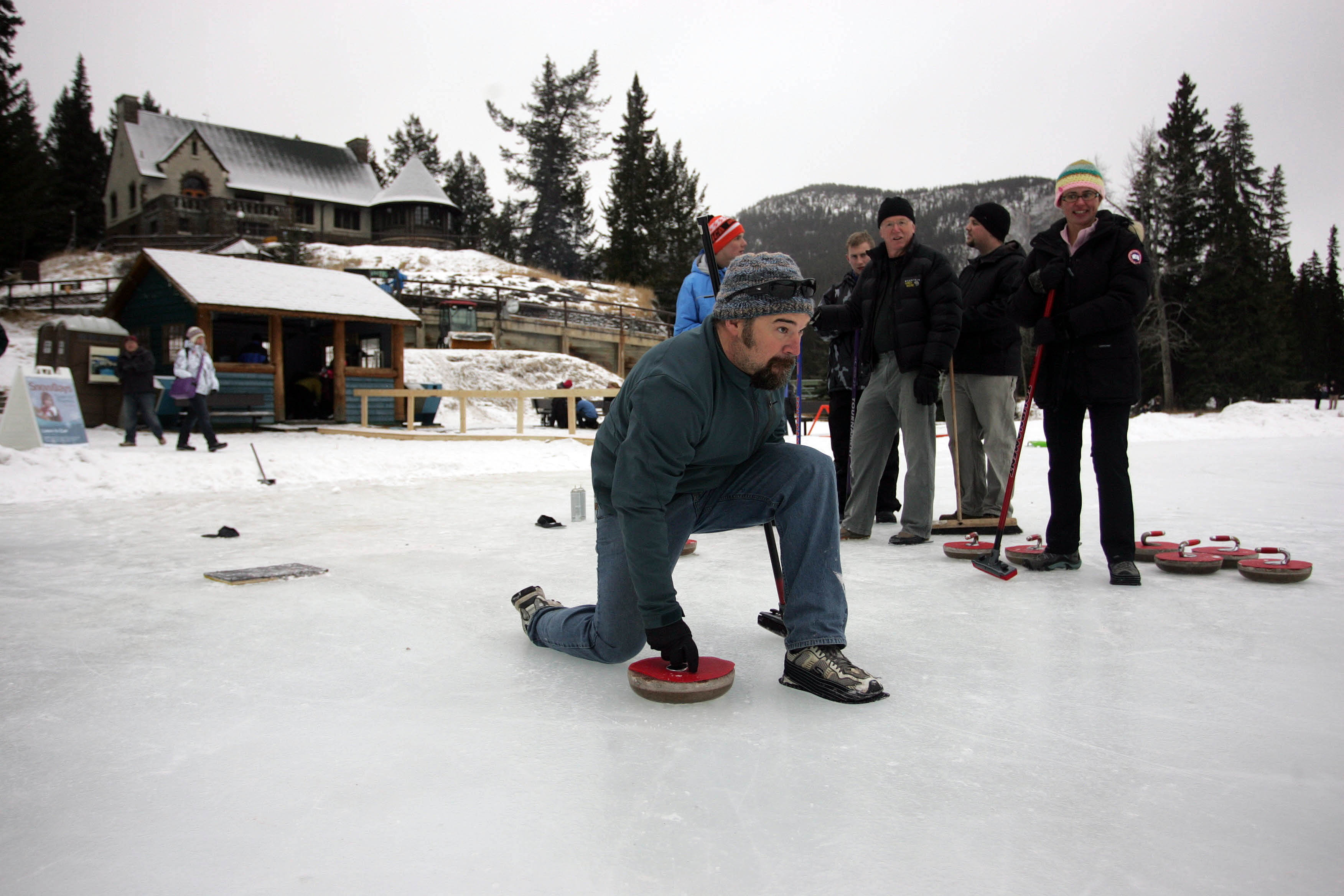 Curling (and other winter sports)