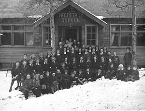 The Mountain School, circa 1930