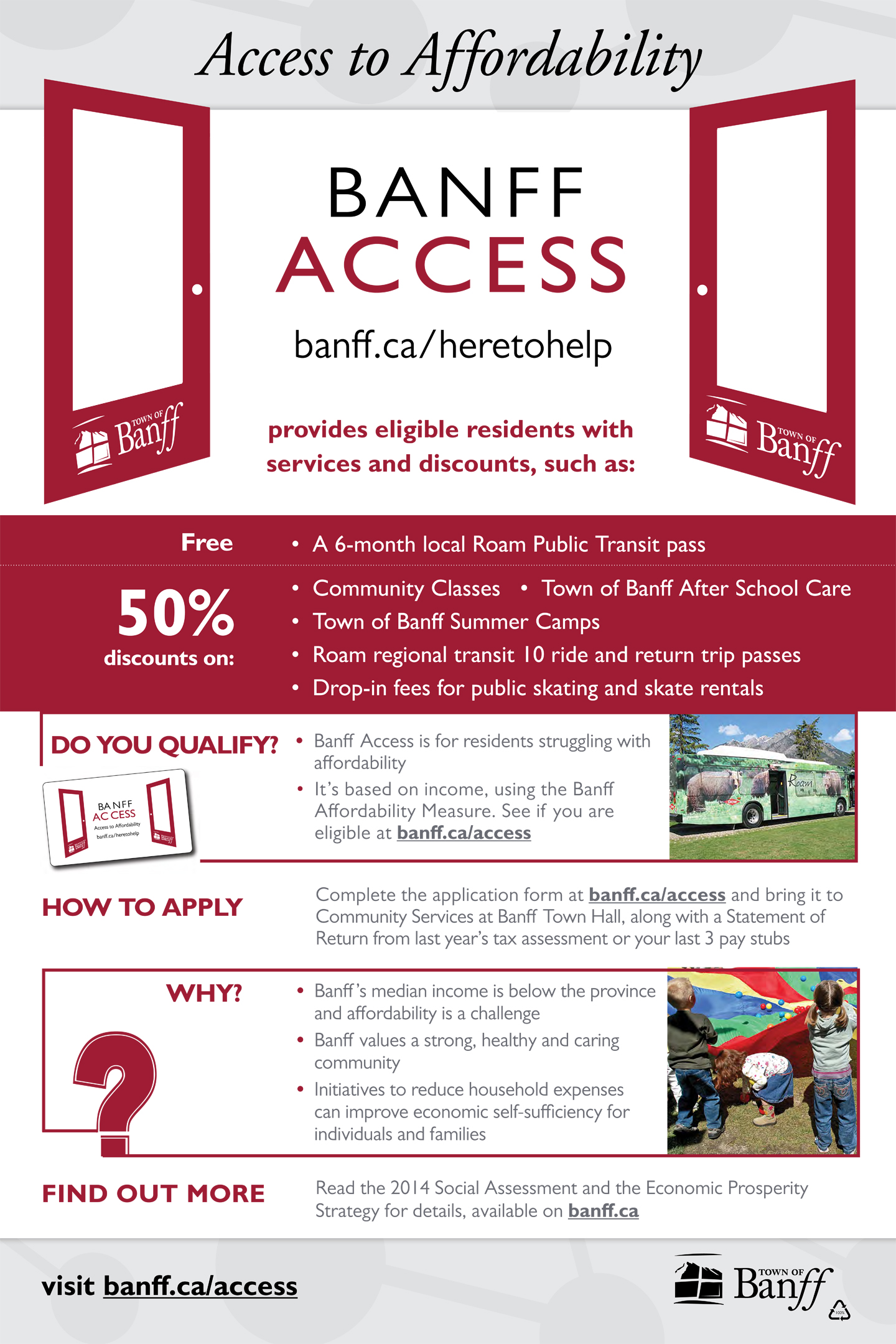 Banff Access Program
