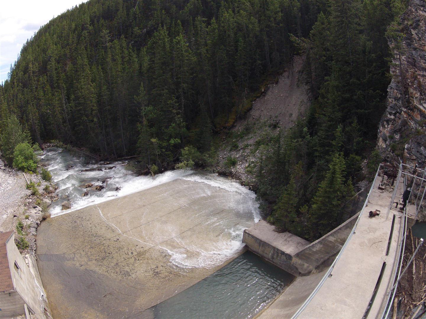 40 Mile Creek Dam