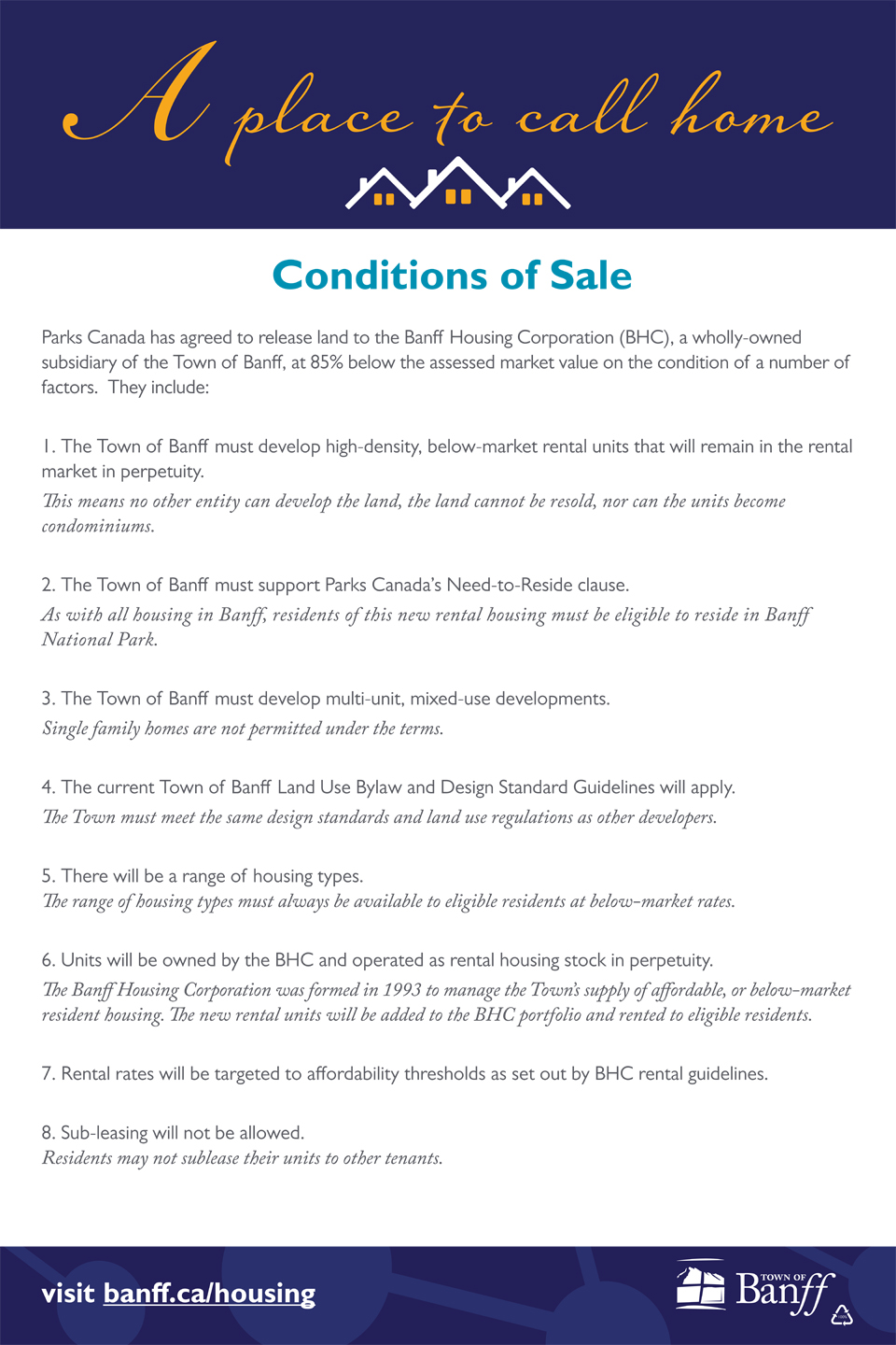 Conditions of Sale